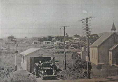 The First Porirua Fire Station. Opened 1951 Closed 1962
